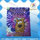 Scooby snax aluminum foil zipper bags/mylar herbal incense 2g