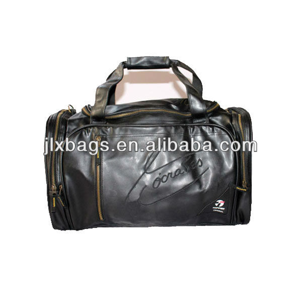 Deluxe PU Leather Travel Bags For Men