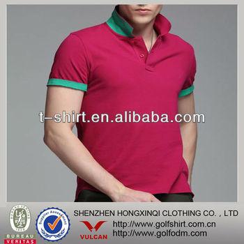 men slim fit polo t-shirts 100 pima cotton