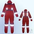 Elevata trasparenza fr abbigliamento,ignifugazione tuta tuta, 100 c protezione di sicurezza uniforme