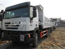 Iveco 380hp 6x4 benne. heavy duty chariot élévateur