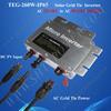 Micro inverter 260w grid tie solar inverter dc 22-50v input to ac 220v, 230v, 240v