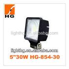 Hot sale off road 12v led work light 30W car spotlights