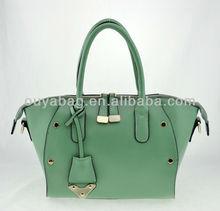 big top brand fashion ladies handbags PU handbag guangzhou factory bag