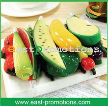 2013 distinctive fruit ballpoint plastic pen for promotion