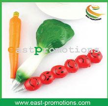 Different food shape design plastic promotional ball pen