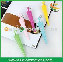 umbrella shape design plastic promotional ball pen, new pen, office&school pen