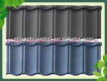 YIWU FACTORY Wholesale Stone Coated Roof Tile/Roof Tiles Prices/Sun Stone Coated Metal Roof Tile