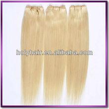 Factory price wholesale blonde human hair weave uk