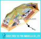 Hot Sale 21'' *8k Foiding Umbrella 3 Fold Rain/Sun Umbrellas
