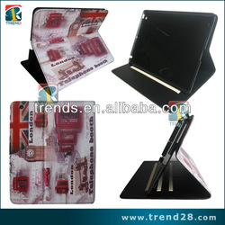 new stand tablet case for ipad 4 case flag