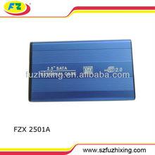 "2.5"" USB 2.0 SATA Hard Disk Drive HDD/HD Enclosure/Case"