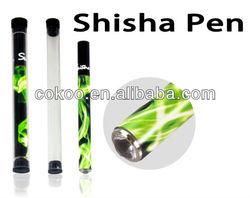 New design hot selling e cigarette disposable shisha hookah pen.Colorful sticks,350,500,800puffs,diamond tip.