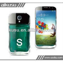 No residue!! 3d sticker mobile phone for galaxy s4