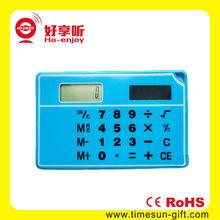 New fashion Transparent Solar Calculator/electronic calculator
