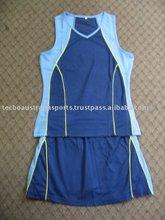 Smu Netball Jersey & Skirts--Set3