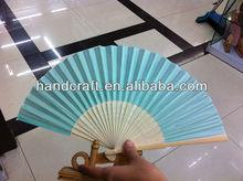 small plastic sky blue fan