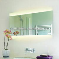 T5 HO Fluorescent Backlit Wall Mirror for Bathroom