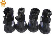 JML 2013 New Waterproof Nylon Dog Rain Boots , Waterproof Carvas Dog Rain boots, Paw protecter, xb1219,Blue color