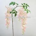 28021tn142cm couleur pourpre fleur de décoration, usine de vente articiel wistaria usine de soie fleurs