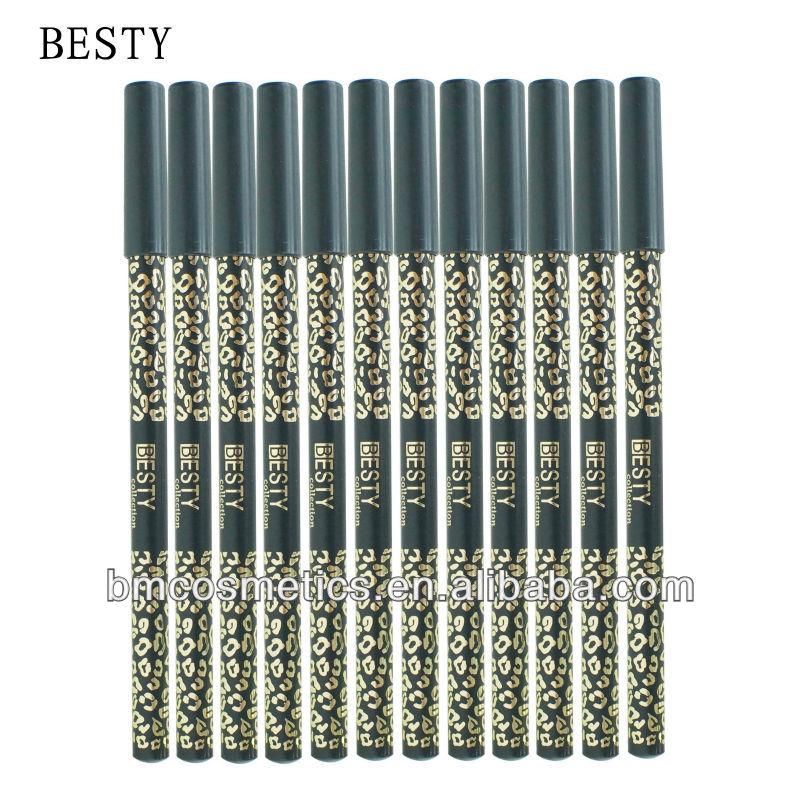 cosmetic eyebrow pencil eyeliner pencil in black colour