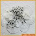 la mode en mousseline de soie à la main fleurs en tissu