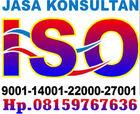 BADAN KONSULTAN ISO   CONSULTANT HSE   SERTIFIKASI ISO 9001   HP. 08159767636