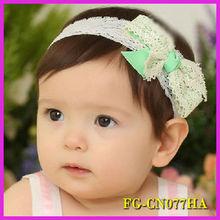 Fashion hair accessory big making bow hair kid headband