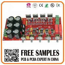 av audio amplifier pcba assembly