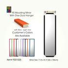 30*120cm ps moulding flexible plastic mirrors with over door hanger has 10 different colors