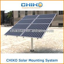 Solar Pole installation