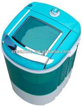car single tub semi automatic mini clothes washer