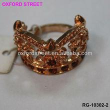 stretch 18K wedding diomand rose gold ring ,wedding ring