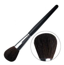 Top high quality Black Goat hair best cosmetic make up powder brush