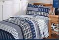 Costuras azules y patchwork acolchado edredones/cobijas/colchas/cubrecamas para los niños