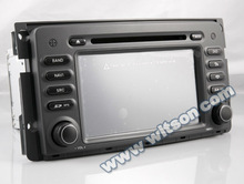 WITSON Smart car radio player A8 Chipset Dual Chipset,3G modem/wifi/DVR (Option) with Radio RDS function