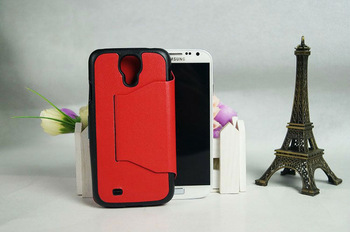 Stand Function Leather Flip Case Cover for Samsung Galaxy S4 I9500, Korea Style Mobile Phone Cover