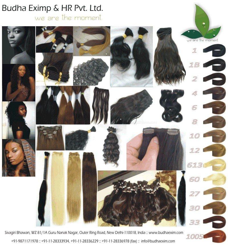 100% Natural cabelo humano indiano