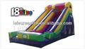 inflatbale tobogán para niños y adultos de diapositivas moonwalk
