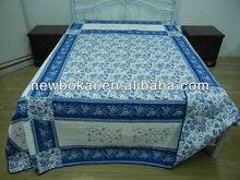 latest design patchwork quilt print quilt set//bedsheet