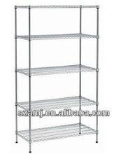 chrome shelving for home use