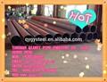 4 polegadas seções ocas api 5l quente formado soldado erw carbono tubos de aço retangular tamanho& peso