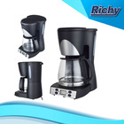 Programmable timer digital display drip coffee maker
