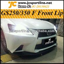 For 2012 UP Lexus F Sport Car Front Lip GS250 350