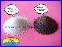 sandblasting media /grits / sand fused aluminum oxide / corundum white & brown