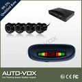 De alta calidad de coches sensor de aparcamiento del sistema con pantalla led, el zumbador