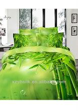 100% cotton printed 3D bedding set