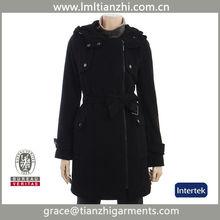 Elegant new style man wool fashion coat 2013 double faced wool coat