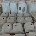 China pia de lavagem, pias de cozinha acrílico, material de superfície sólida