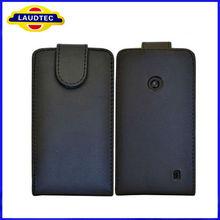 For Nokia Lumia 520 Leather Case, Flip Leather Cellphone Case Cover for Nokia Lumia 520